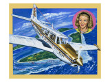 Flight to Fame Giclee Print by Green