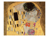 The Kiss, 1907-08 Impresso gicle por Gustav Klimt