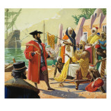 Vasco De Gama Giclee Print by Severino Baraldi
