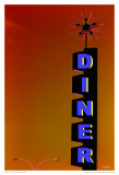 Diner Posters by Pascal Normand