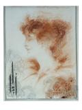 Rejane, 1894 Giclee Print by Aubrey Beardsley