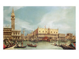The Molo, Venice Giclee Print by  Canaletto