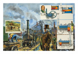 Puffing Billy Giclee Print by  Green
