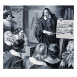 William Harvey Giclee Print by Paul Rainer