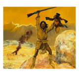 Mexican Indians Giclee Print by Gerry Embleton