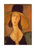 Head of a Woman Giclee Print by Modigliani
