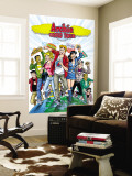 Archie Comics Cover: Archie World Tour Wall Mural by Rex Lindsey