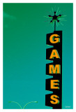 Games Prints by Pascal Normand