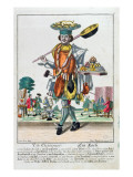 The Cook, C.1735 Giclee Print by Martin Engelbrecht