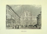 Milano Prints by Walter Perugini