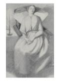 Elizabeth Siddal Giclee Print by Dante Gabriel Rossetti