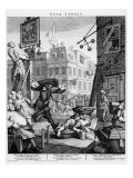 Beer Street, 1751 Premium Giclee Print by William Hogarth