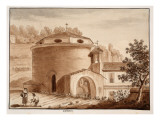 San Teodoro, 1833 Giclee Print by Agostino Tofanelli