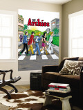 Archie Comics Cover: Archie Digest No.250 The Archies Wall Mural by Rex Lindsey
