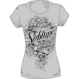 Juniors: Sublime - Banner T-Shirt