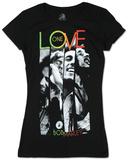 Juniors: Bob Marley - One Love Stripe T-skjorter