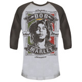 Bob Marley - Rebel Music Baseball Tee Vêtement
