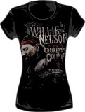 Juniors: Willie Nelson - Outlaw Country Shirts