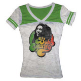 Juniors: Bob Marley - Marley Football Style T-Shirt