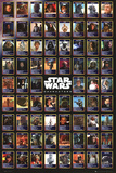 STAR WARS - Compilation Poster