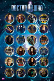 DOCTOR WHO - Characters Affiches