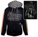 Zip Hoodie: Bob Marley - Get Up T-Shirt