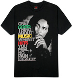 Bob Marley - Good Music Hits T-Shirt