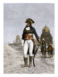 Napoleon Bonaparte at Cairo during His Invasion of Egypt, c.1798 Giclee Print
