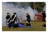 Artillery Demonstration, Revolutionary War Reenactment at Yorktown Battlefield, Virginia Giclee Print