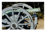 Revolutionary War French Cannon Called the Fox, Yorktown Battlefield, Virginia Giclee Print