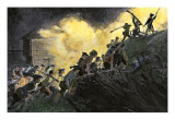 Capture of Paulus Hock, New Jersey, by Americans under Major Henry Lee, c.1779 Giclee Print