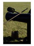 Artillery Tools, Revolutionary War Reenactment at Yorktown Battlefield, Virginia Giclee Print