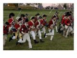 British Sortie Reenactment at Yorktown Battlefield, Virginia Giclee Print