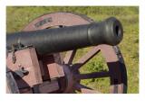 Close-Up of a Revolutionary War Cannon at Yorktown Battlefield, Virginia Giclee Print