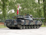 The Leopard 1A5 of the Belgian Army in Action Photographic Print by  Stocktrek Images