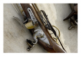Flintlock Musket at a Reenactment on the Yorktown Battlefield, Virginia Giclee Print