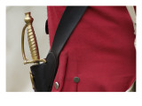 Sword of a British Officer Reenactor at the Yorktown Battlefield, Virginia Giclee Print
