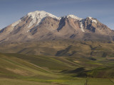 Chimborazo Mountain (6310 Meters) the Highest Mountain in Ecuador, Chimborazo Reserve, Ecuador, Photographic Print