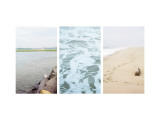 Coastal Patterns Triptych Prints