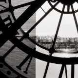 Clock Mus&#233;e d&#39;Orsay II Print
