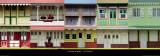 Maisons Créoles, Martinique Poster van Roberto Scaroni