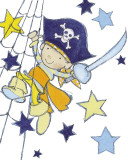 Little Pirate Kunstdrucke von Annabel Spenceley