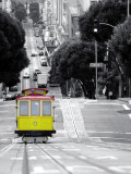 Cablecar in San Francisco Print