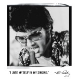Elvis: Singing Giclee Print