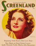Norma Shearer - Screenland Magazine Cover 1930&#39;s Masterprint
