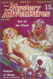 New Mystery Adventures - Pulp Poster, 1935 Masterprint