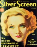 Marlene Dietrich - SilverScreenMagazineCover1940's Masterprint