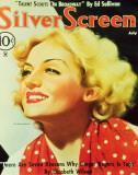 Carole Lombard - SilverScreenMagazineCover1940's Masterprint