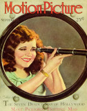 Clara Bow - Motion Picture Magazine Cover 1930&#39;s Masterprint