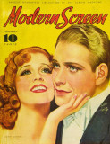 MacDonald, Jeanette - Modern Screen Magazine Cover 1930&#39;s Masterprint